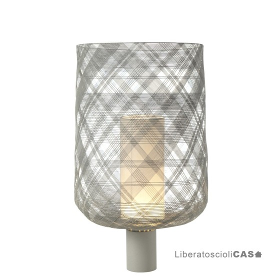FORESTIER - ANTENNA LIGHT GREY TABLE LAMP GM