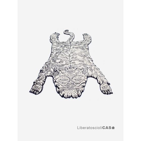 MOUSTACHE - TAPPETO Tiger Big Rug