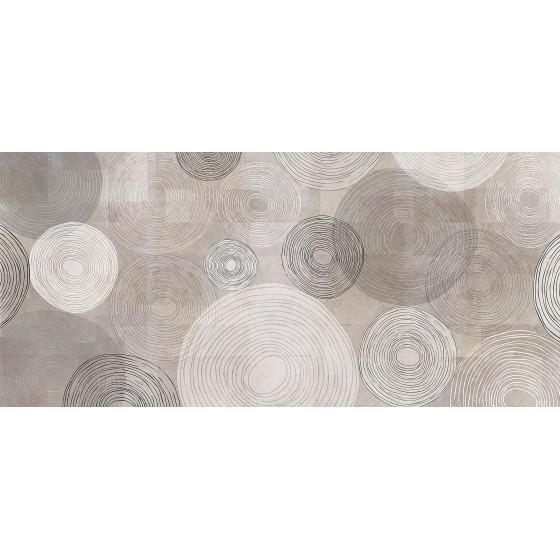 INKIOSTRO BIANCO - SOFT CIRCLES CARTA DA PARATI COLLEZIONE DESIGNERS