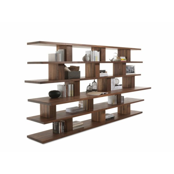 LIBRERIA BOOKSHELF 1 IN NOCE
