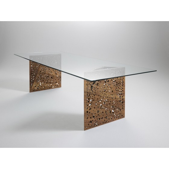 HORM - TAVOLO RIDDLE TABLE + TABLE2 200 X 100 H72 CM