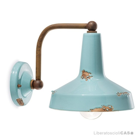 FERROLUCE - LAMPADA APPLIQUE VINTAGE C1420