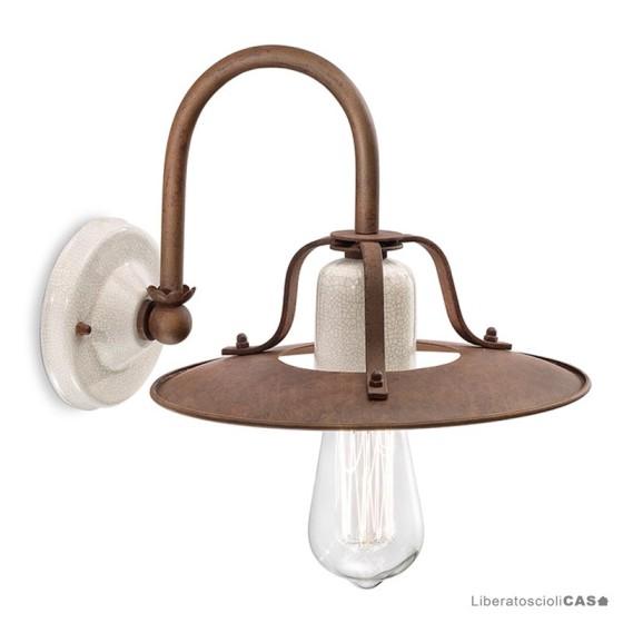 FERROLUCE - GRUNGE LAMPADA DA PARETE