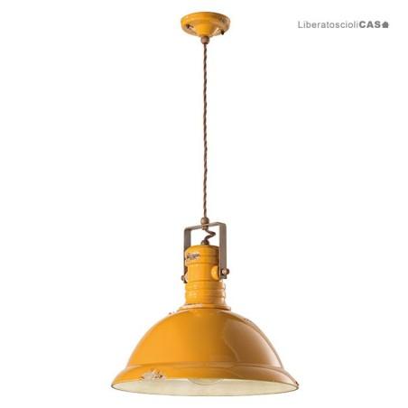 FERROLUCE - INDUSTRIAL LAMPADA A SOSPENSIONE C1690