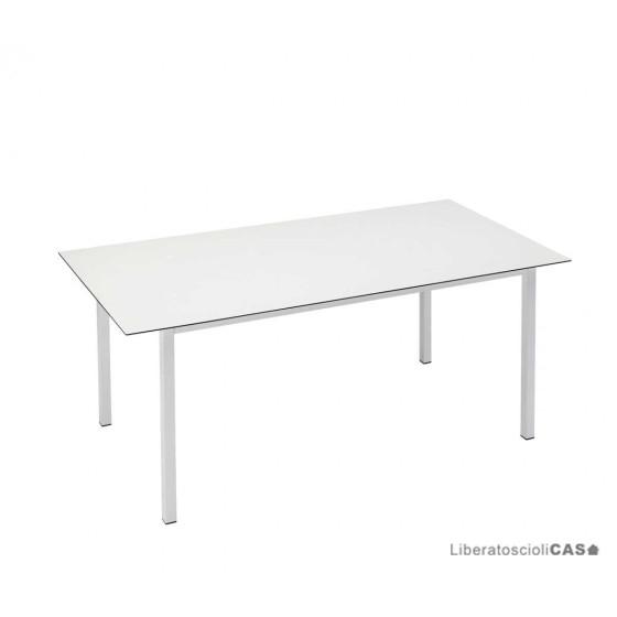 SCAB DESIGN - PRANZO 2416 TAVOLO BIANCO 180x90cm