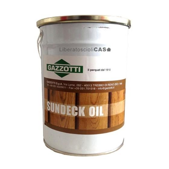 GAZZOTTI - SUNDECK OIL