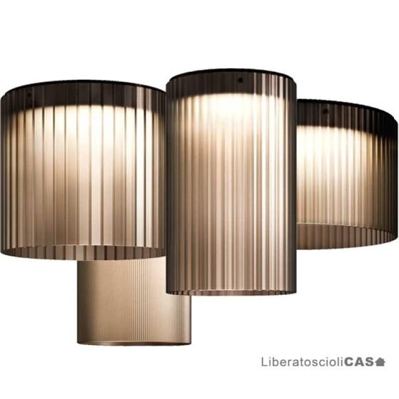 KUNDALINI - GIASS 40 LAMPADA A SOFFITTO MISURA DIAM.4OCM H 35CM