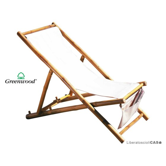 GREENWOOD - SDRAIO IN BAMBU'