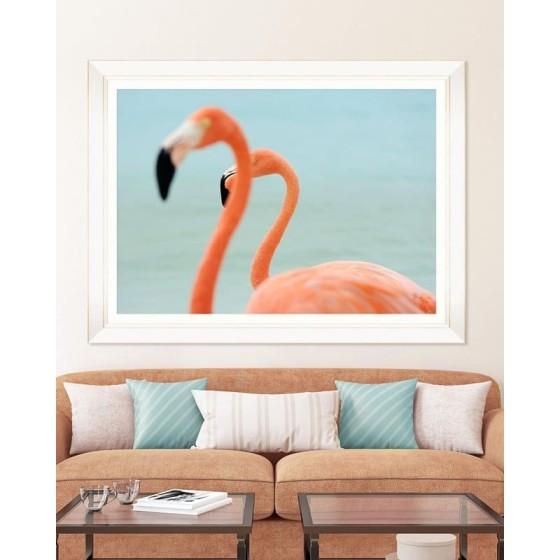 MINDTHEGAP - stampa flamingos