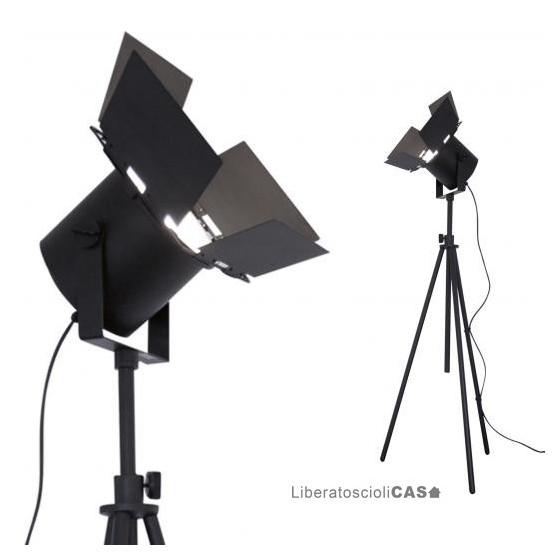 MARTINELLI LUCE  - LAMPADA DA TERRA SPOTTO' A LED DESIGN STUDIO FOA